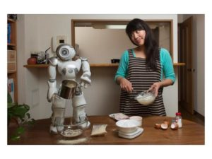 Lim with robot
