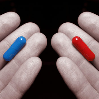red or blue?