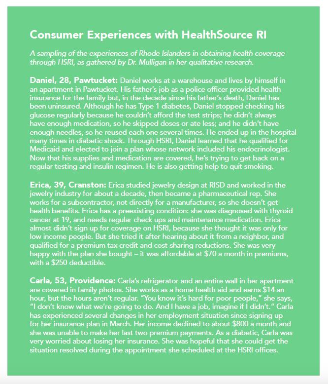 consumer experiences sidebar