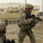 U.S. soldiers in Iraq