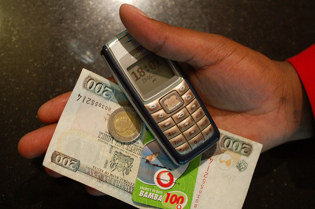 Mobile banking has brought financial services to the masses in Kenya.