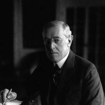 Woodrow Wilson, 1918