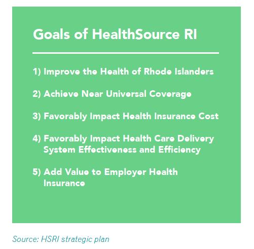 Goals of Healthcare RI