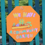Community garden in Olneyville
